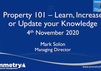 Webinar: Property 101 – Everything you need to know about mortgages