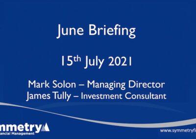 Symmetry Market Update: June 2021 Briefing
